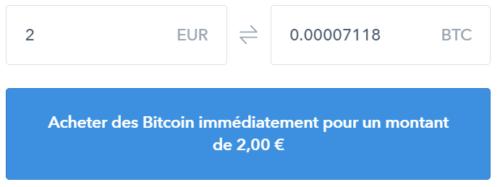 Exemple a deux euros