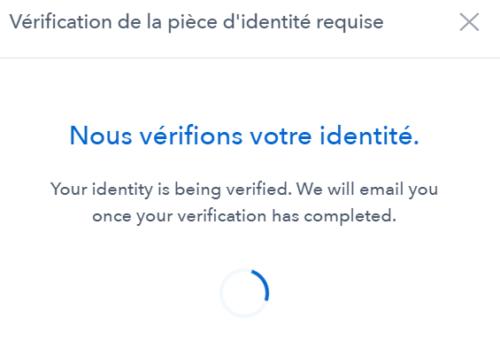 verification attente coinbase