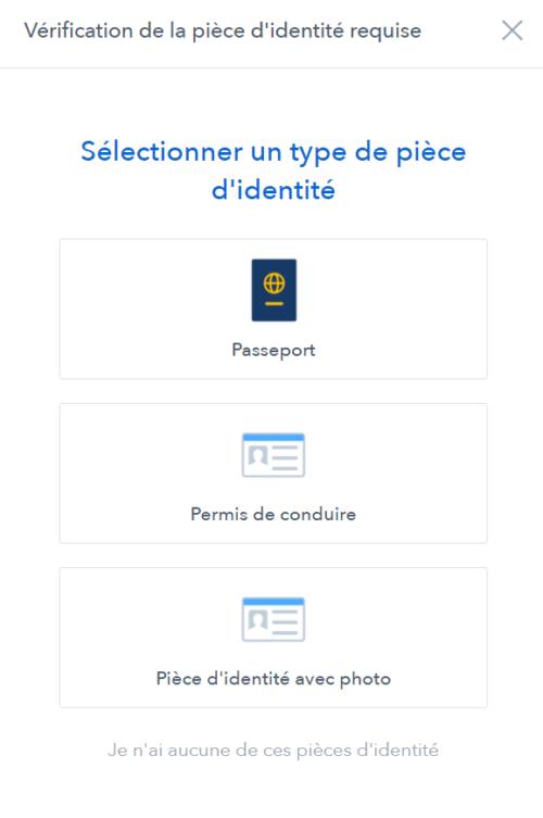 La verification d'identite sur coinbase